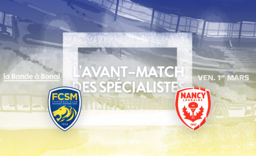 Sochaux – Nancy #AvantMatch